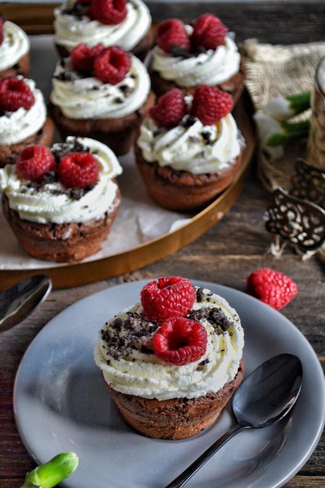 muffinki brownie